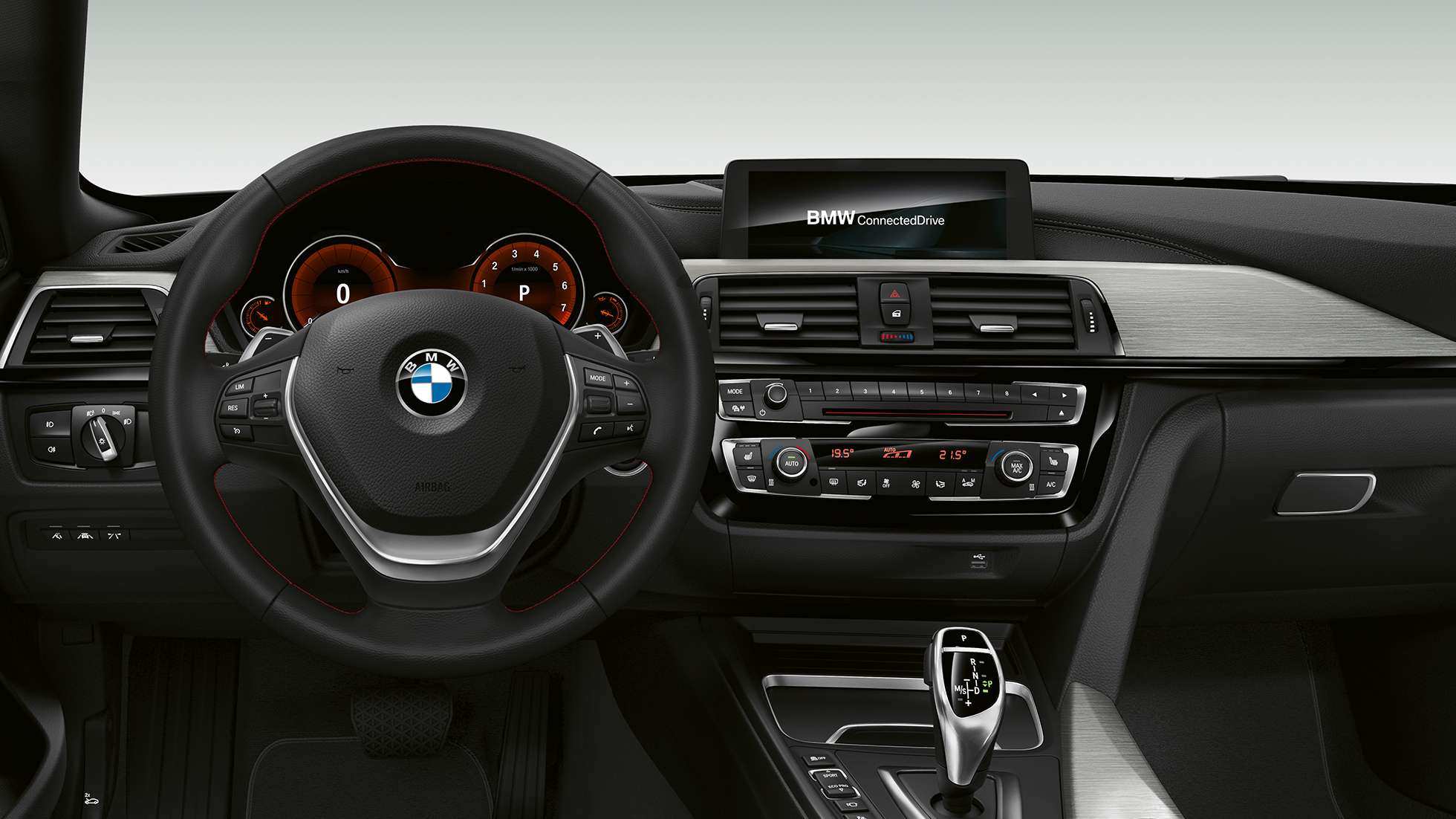 BMW 4 Series Gran Coupé, Model Sport Line cockpit